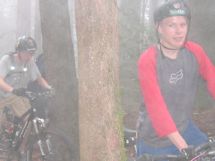 Khristian and Ian - Foggy Forest